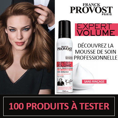 Test Produit 100 Mousses EXPERT VOLUME à tester !