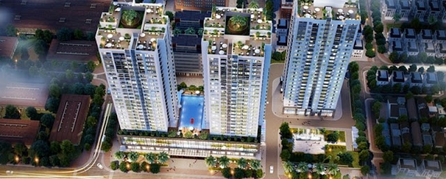 Phối cảnh dự án mang đậm thương hiệu riêng Rivera Park Hà Nội