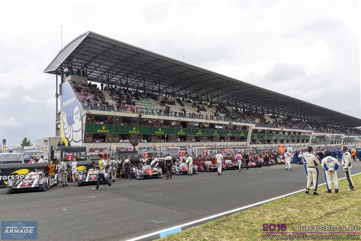 Club arnage 2018 the 24 hours of le mans 2016 expect for O garage arnage