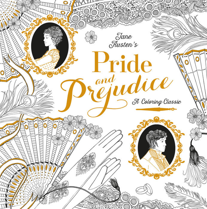 And On July 5 The First Two Coloring Books In Series Were Released Pride Prejudice Romeo Juliet