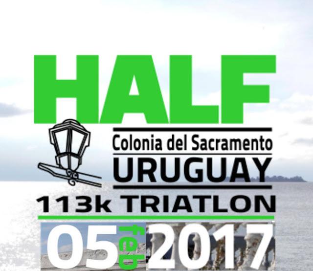 Triatlón - Half de Colonia del Sacramento (Uruguay, 05/feb/2017)