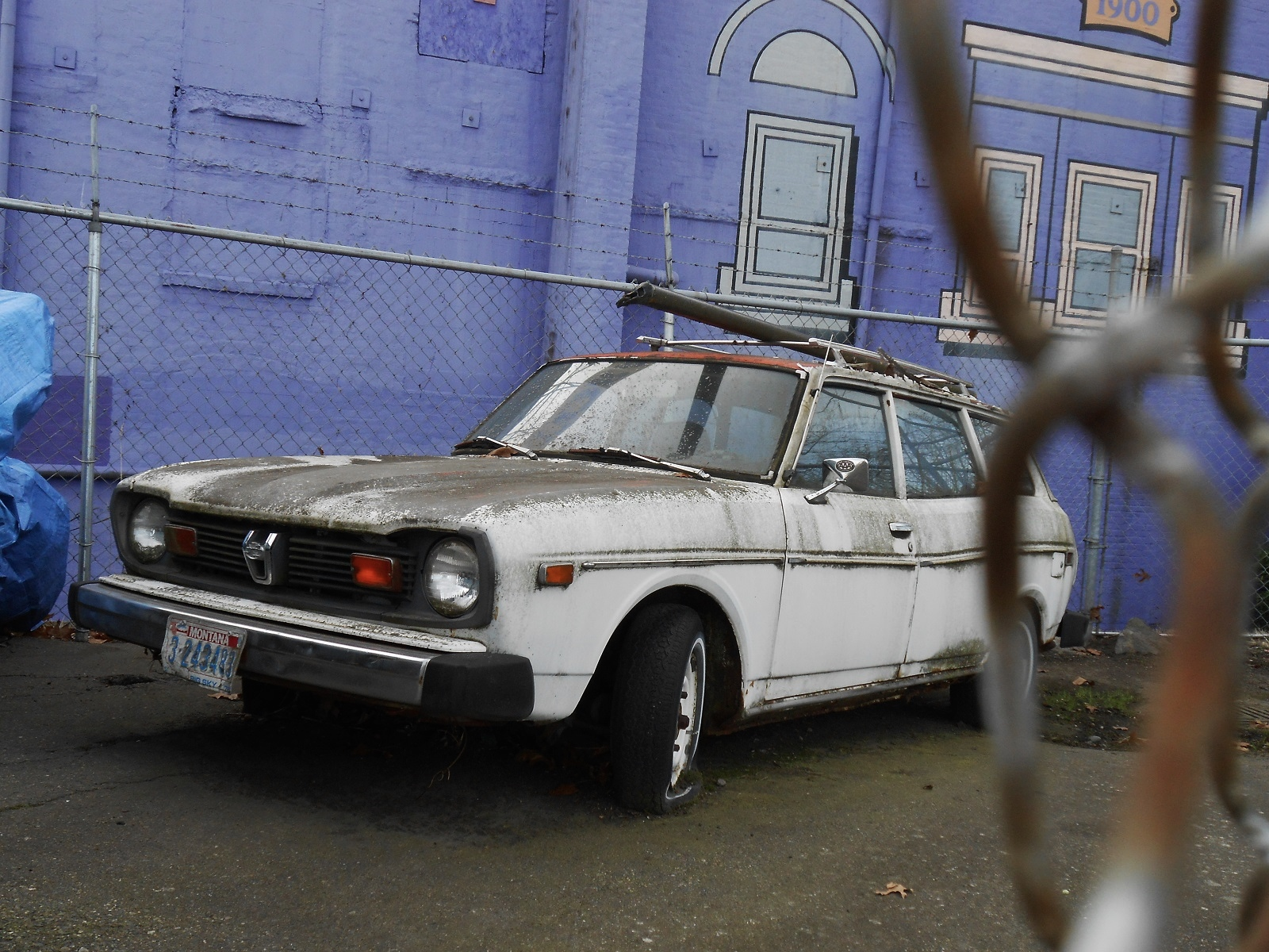 Seattle S Parked Cars 1976 Subaru Dl Wagon