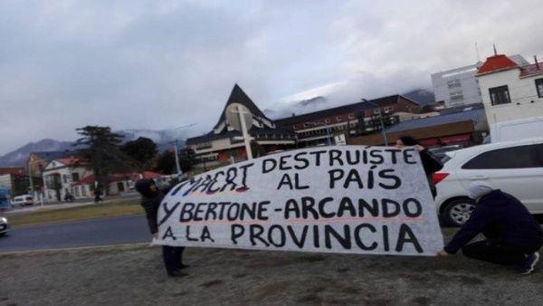 Organizaciones sociales de Tierra del Fuego repudian visita de Macri