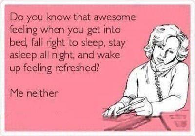 sleep problem meme