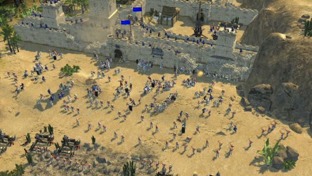 سترونج هولد: كروسيدر (بالإنجليزية: Stronghold: Crusader) (أي:الحصن : الحملات الصليبية) هي امتداد للعبة الحصن الصادرة عام 2001 من Firefly Studios وتختلف هذه الإصدارة عن سابقتها في أنها لا تحدث على أرض أوروبا وانما في الشرق الأوسط أثناء الحملات الصليبية، تحتوي اللعبة على بعض الوحدات والمباني الجديدة التي تأخد الطابع العربي كما تحتوي على شخصيات ملوك العرب في تلك الفترة. تتيح اللعبة للاعب اللعب بأحد الفريقين: العرب المسلمين، أو الصليبيين. اللاعب يختار اللعب باسم أحد القادة العرب أو الصليبيين. القادة العرب: صلاح الدين الأيوبي: يتميز بإدارة اقتصاد قوي، وقوة عسكرية محترمة، تعد الأقوى في الجانب العربي. الخليفة: قاس وانتقامي، يتميز بهجمات المماليك العبيد المتكررة بهدف اشعال النيران بمزراع الخصم والمنازل وغيرها من المنشئات كما يملك تحصينات جيدة. السلطان: جيش ضعيف وتحصينات متواضعة.