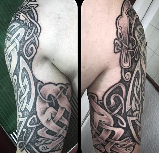 Tatuajes Magnificos Tatuajes Celtas Para Hombres
