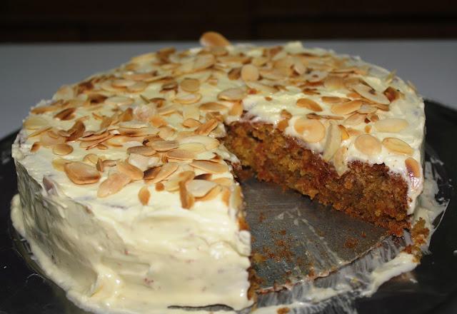 how to bake a carrot cake, carrot cake recipe, resepi karot kek,resepi kek karot,