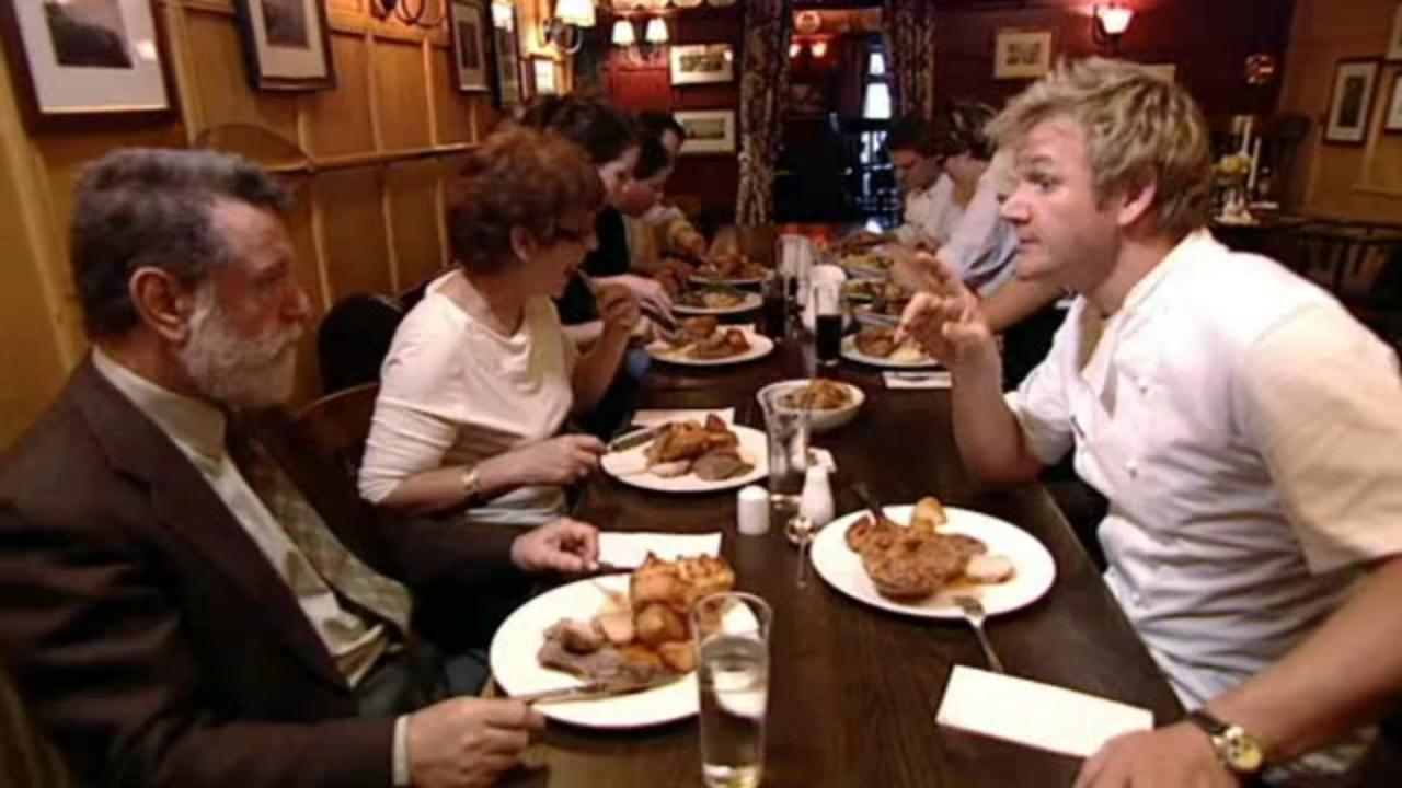Kitchen nightmares the fenwick arms open reality tv for Kitchen nightmares uk