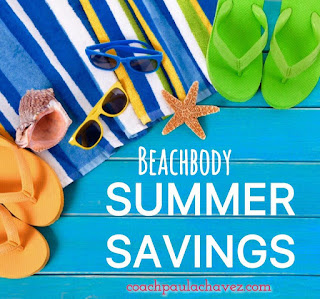 shop the summer sale now,  BEACHBODY SUMMER SALE, SUMMER SALE, BEACHBODY SALE, coach latina, paula chavez