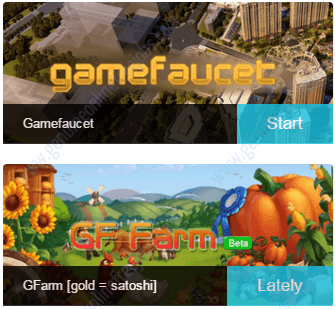Game faucet to earn Bitcoin