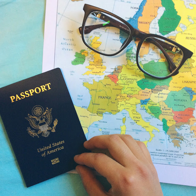 traveling, wanderlust, US passport
