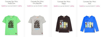 camisetas star wars