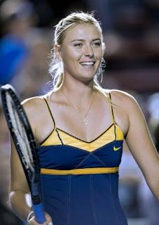 Maria Sharapova, 5 pemain tenis lapangan tercantik di dunia
