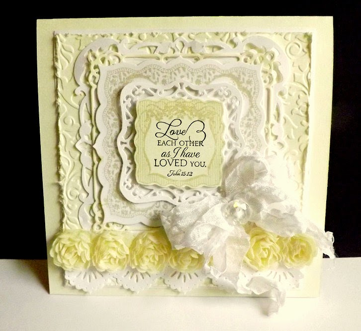 Our Daily Bread Designs, Bless Your Heart, Romantic Floral Designs, Beautiful Borders Dies,