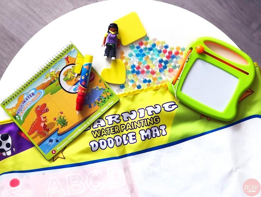 Les activités calmes et ludiques pour des enfants de 1 an à 3 ans