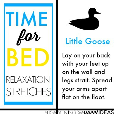 Try these bedtime relaxation stretches for kids to help with bedtime routines.