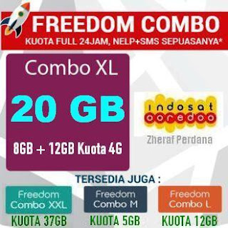 Inject Freedom Combo XL (8GB+12GB) Cuma 100.000