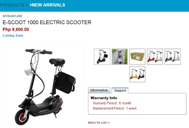 CD-R King E-Scoot 1000 Electric Scooter