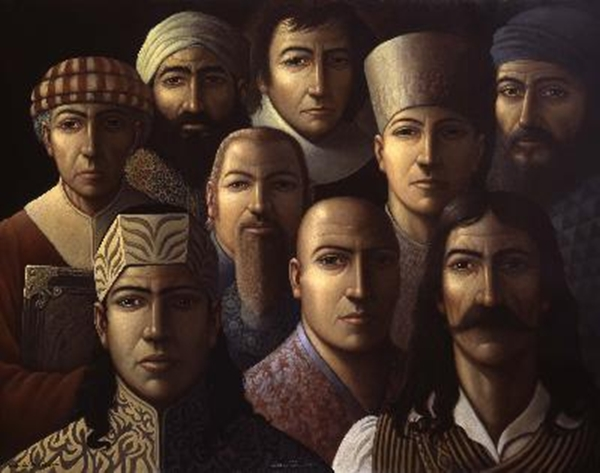 [Imagem: Nine-Unknown-Men_Oil-painting.jpg]