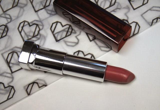 maybelline color sensational lipstick 630 velvet beige review