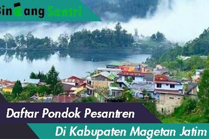 Daftar Pondok Pesantren Di Kabupaten Magetan