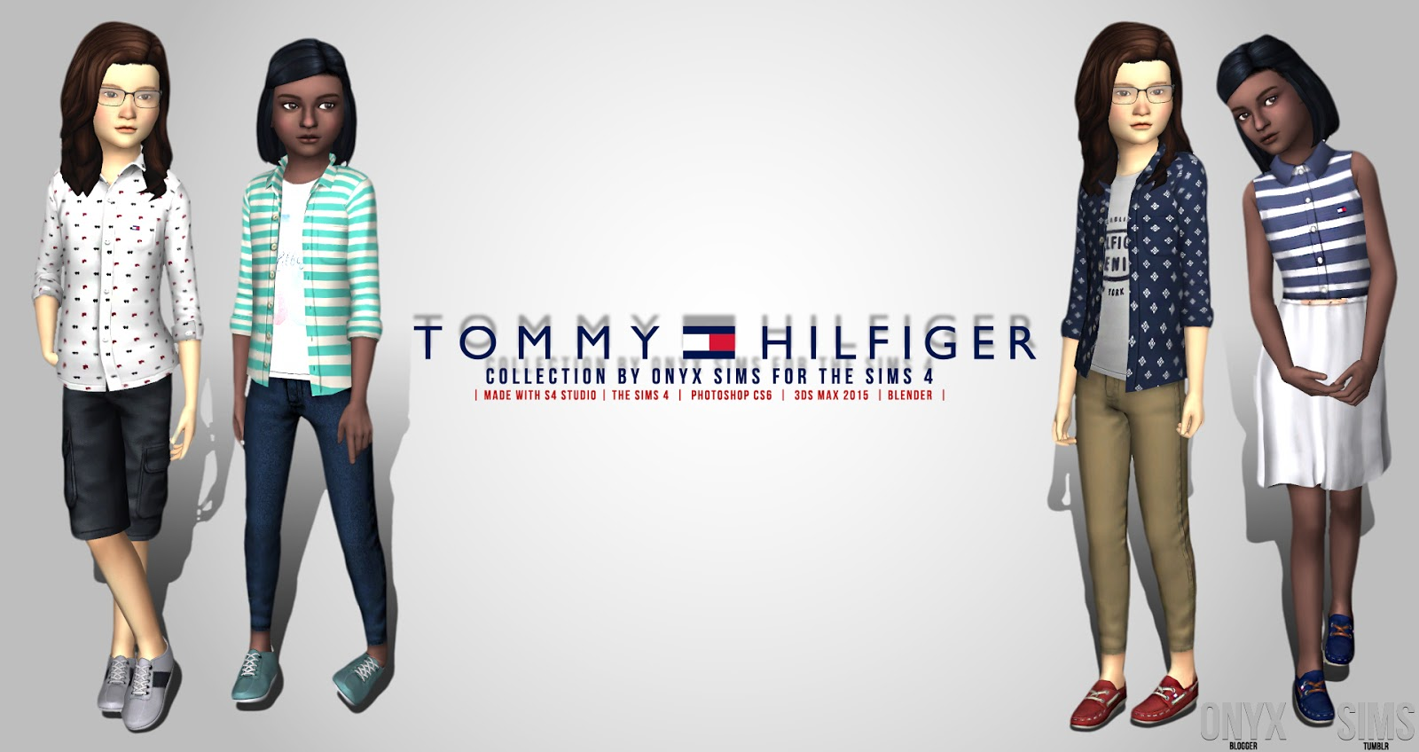 Dining Room Sets For 4 The Tommy Hilfiger Kid S Collection Onyx Sims