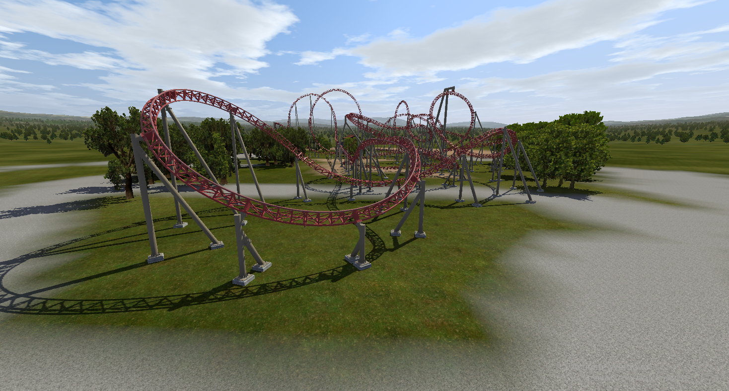 Animated Carowinds POV