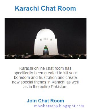 chat room karachi