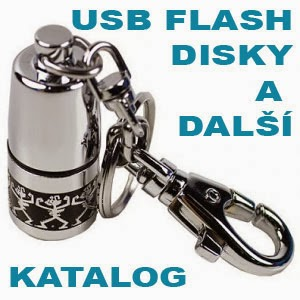 KLIKNI NA KATALOG USB FLASH DISKŮ
