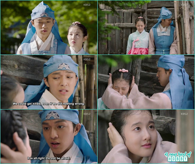 Prince yeok run with Chae Kyung - Seven Day Queen: Episode 3 korean Drama
