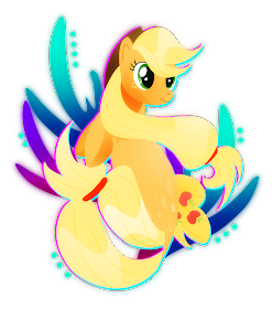 Applejack Seapony