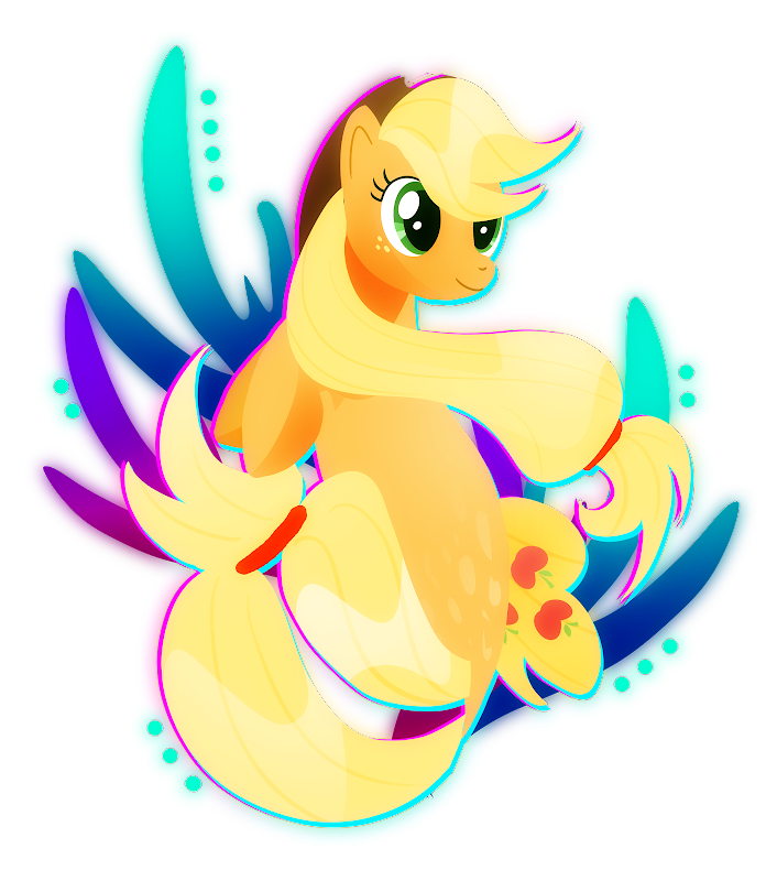 Applejack Seapony