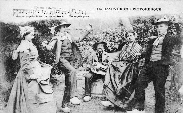 La fête du Village, La Bourrée Auvergnate