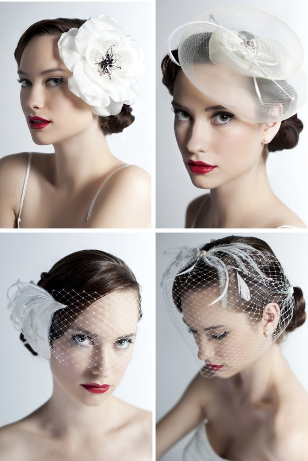 Fascinators had been picking up steam in the wedding industry (in lieu of  veils) in the last few years  4a3976b8c36