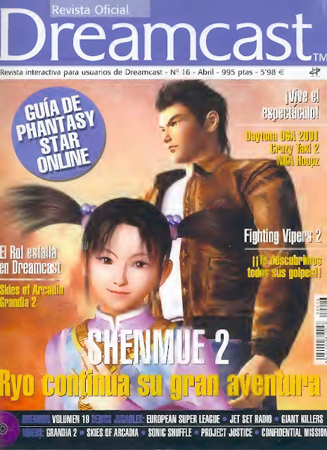 Revista Oficial Dreamcast Issue N°16