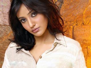 Neha Sharma In White Shirt