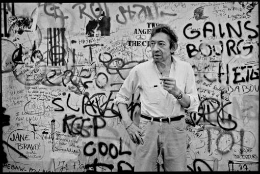 serge gainsbourg maison domicile mur graffiti gainsbarre rue de verneuil paris