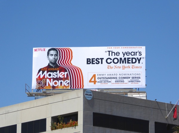 Master of None Netflix 2016 Emmy nominations billboard