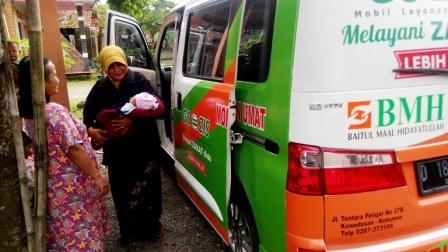 BMH Launching Mobil Layanan Umat