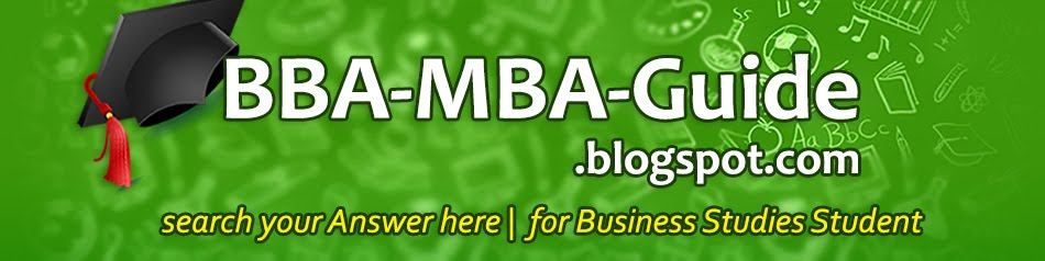 BBA-MBA Guide