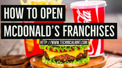 Open McDonald's Franchise