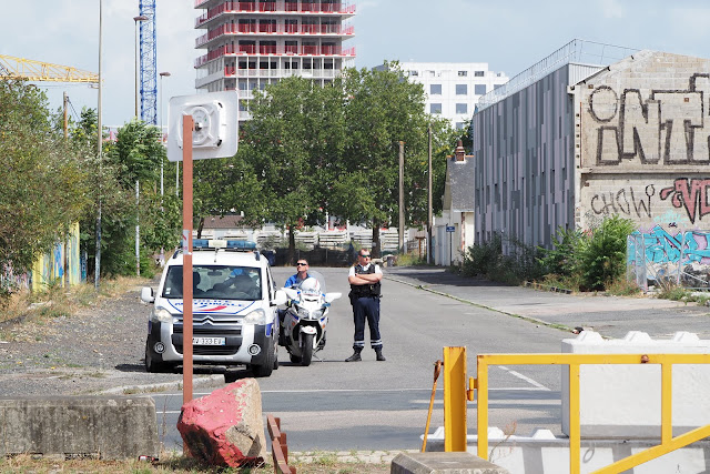 Police Quai Wilson, photo Emeric Cloche