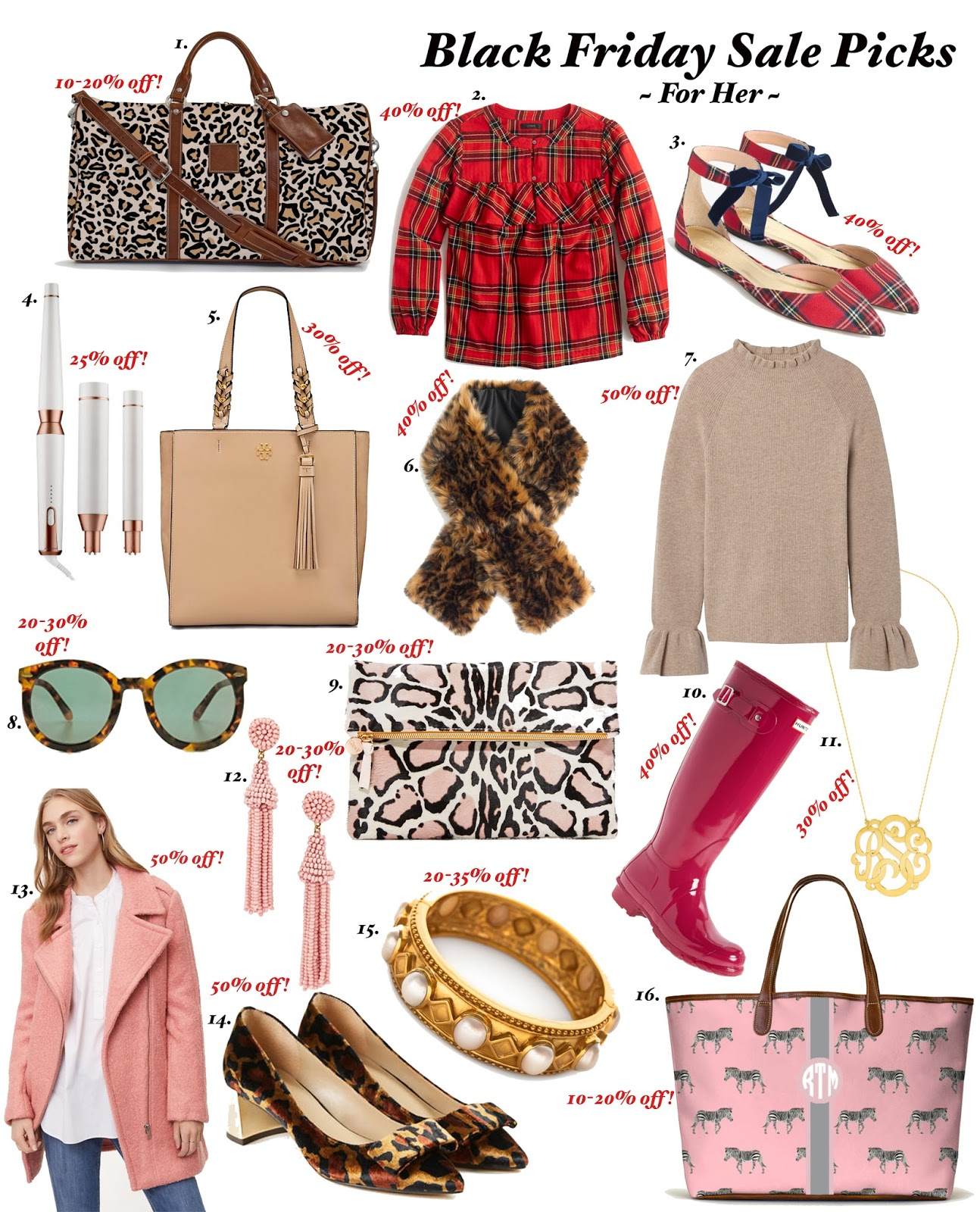 The Best of Black Friday for Her - Something Delightful Blog
