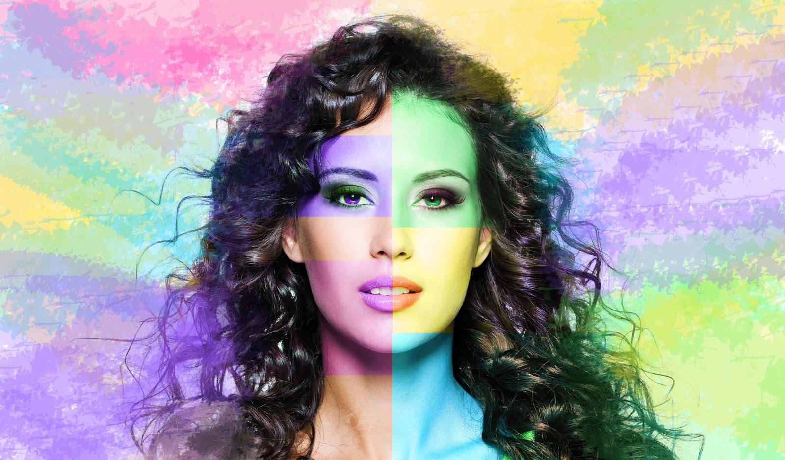 Face Color Effects Tutorial in Adobe Photoshop CC | Ju Joy