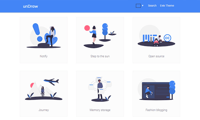 Absolutely Free High Quality SVG Illustrations