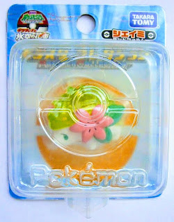 Shaymin figure land form clear version Takara Tomy Monster Collection 2008 movie promo