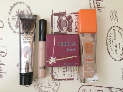 Body shop, hoola, rimmel, collection, collection 2000, everyday, base,