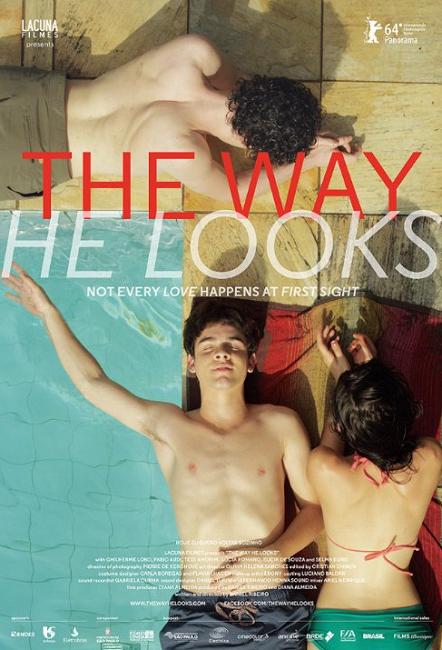Hoje Eu Quero Voltar Sozinho / The Way He Looks 2014 DVDRip ταινιες online seires xrysoi greek subs