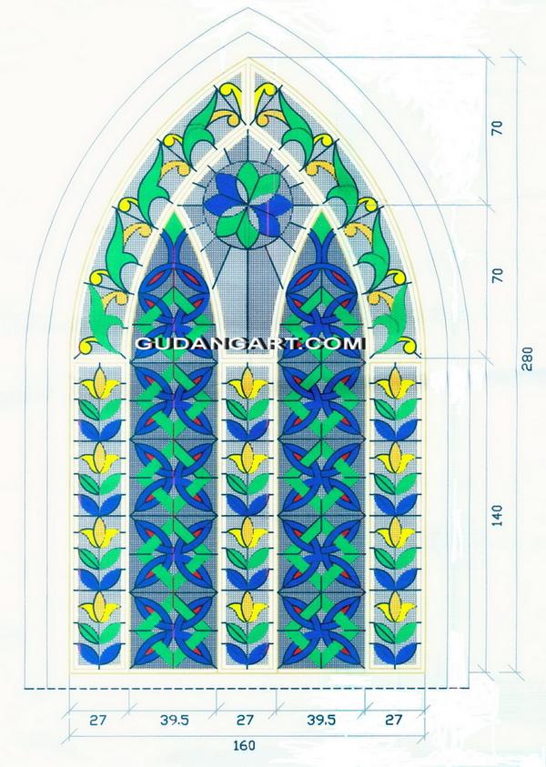 Kaca Patri Masjid | Desain Jendela Kaca Patri Masjid Budi ...