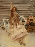 кукла тильда бохо